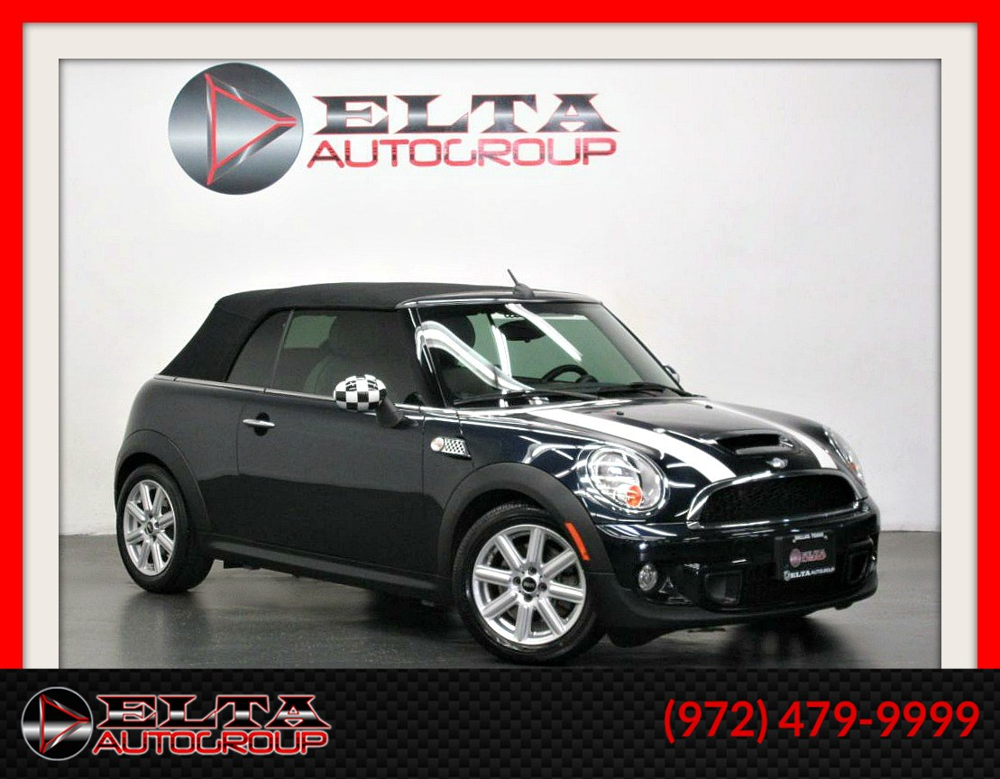2014 MINI Cooper Convertible S * AUTO * CONVERTIBLE * LEATHER * LOW MILES