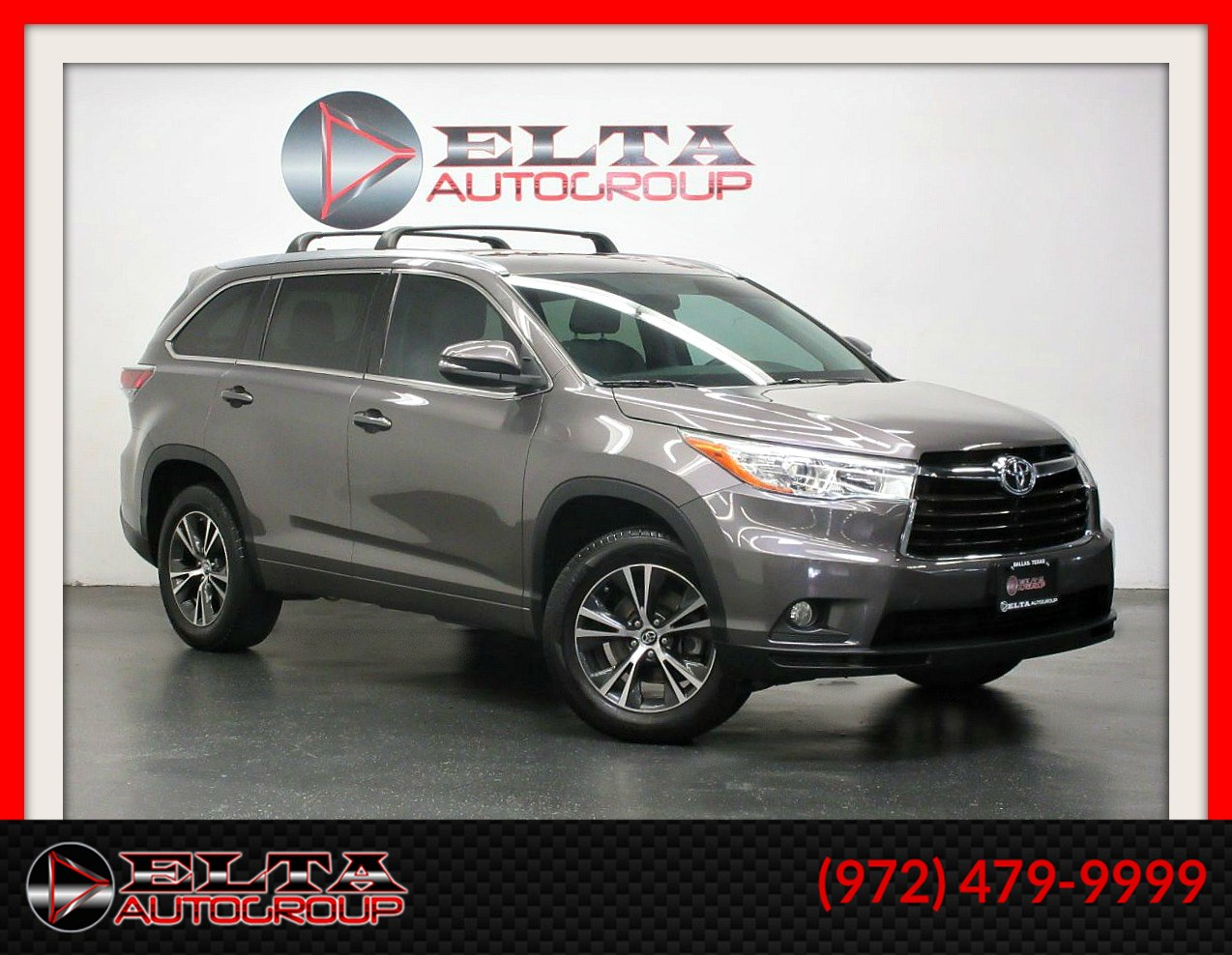 2016 Toyota Highlander XLE * NAVIGATION * CAMERA * ROOF * 3RD ROW