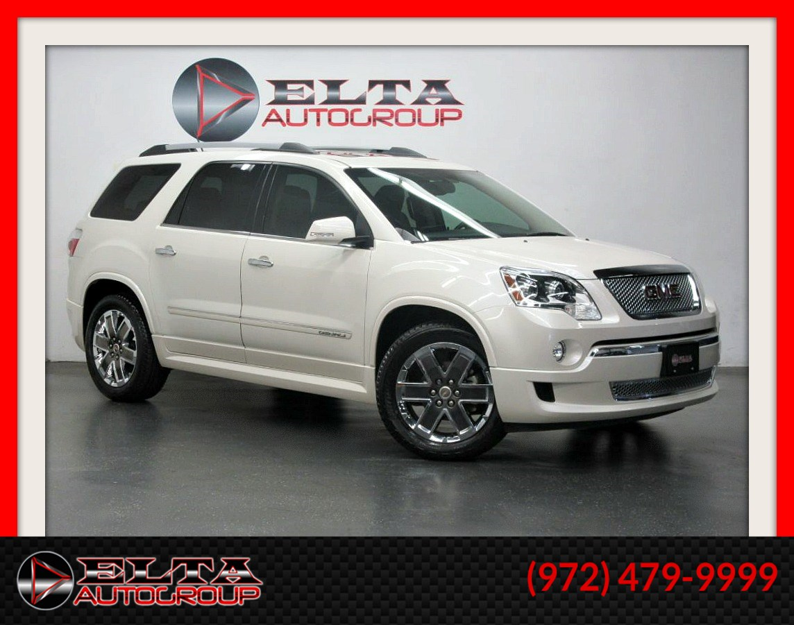 2012 GMC Acadia Denali * NAVI * CAMERA * 3RD ROW * 1 OWNER