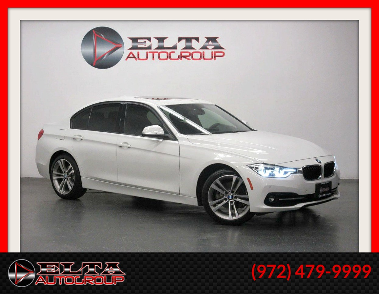 2016 BMW 3 Series 328i * SPORT PKG * NAVIG * CAM * LEATHER * 1 OWNER