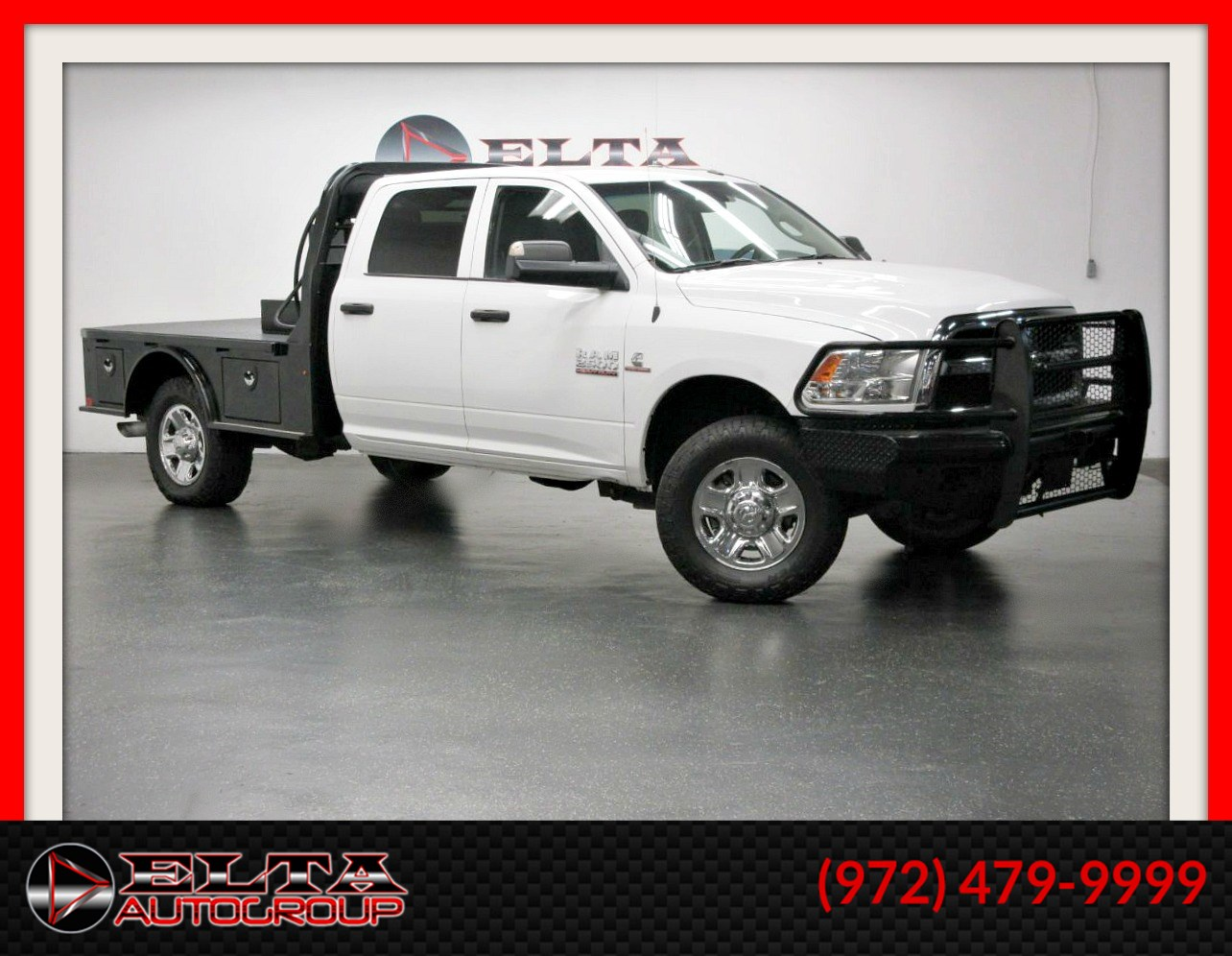 2017 Ram 2500 Tradesman * FLAT-BED * 4WD * 1 OWNER