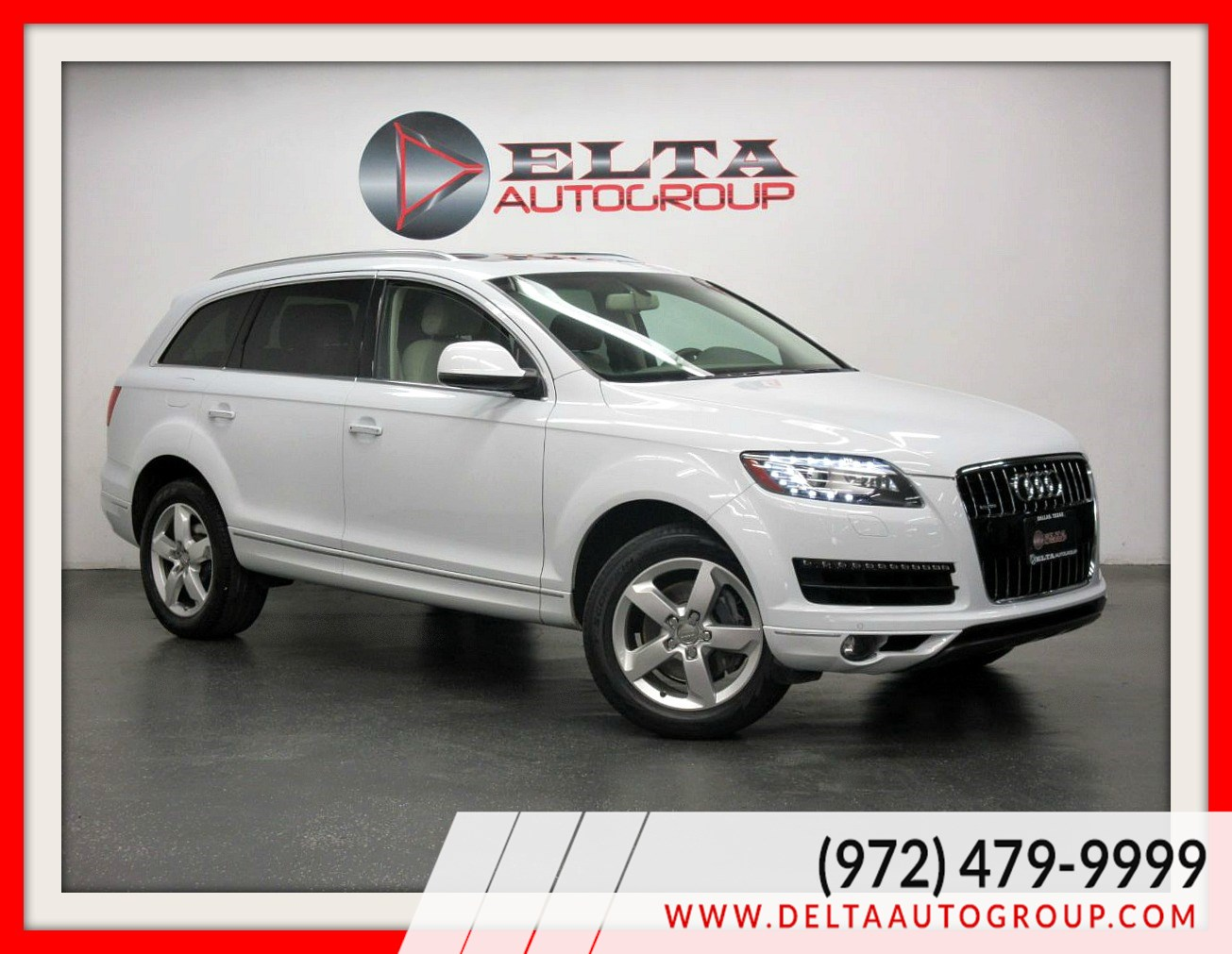 2014 Audi Q7 3.0T Premium Plus *NAVI * CAM * LOW MILES * 1OWNER
