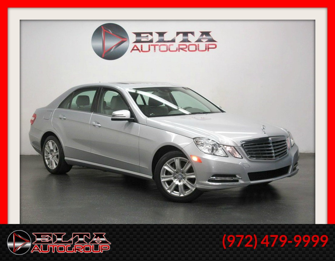 2013 Mercedes-Benz E 350 LUXURY * NAVIG * CAMERA * LOW LOW MILES