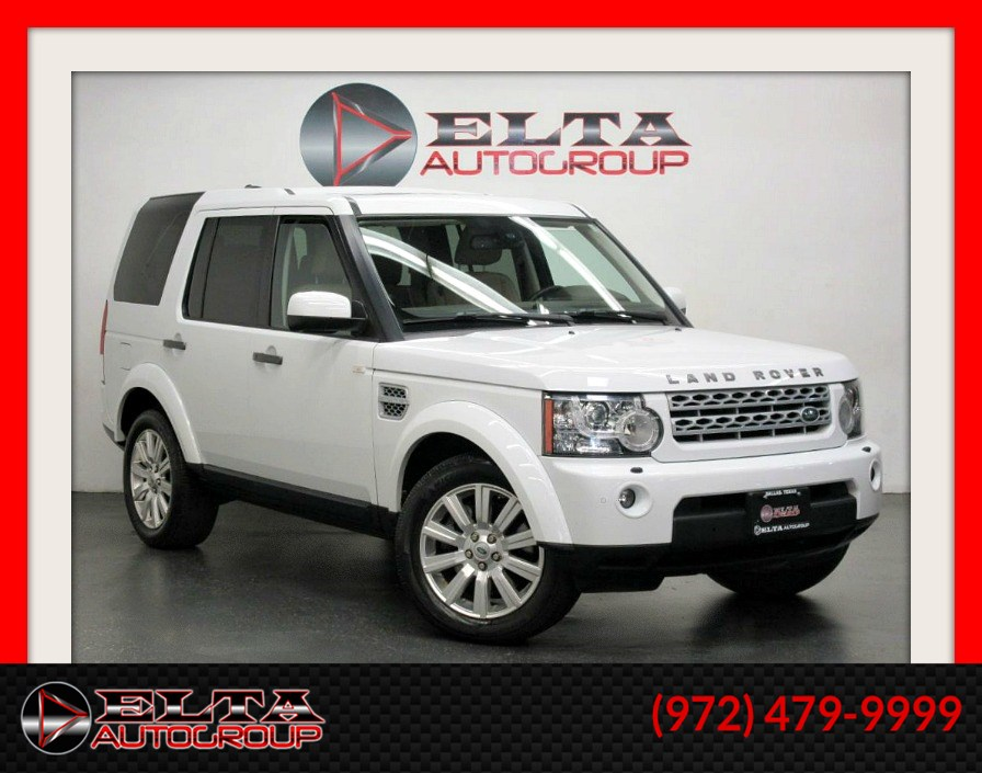 2012 Land Rover LR4 LUXURY * NAVIGATION * CAM * LOW MILES