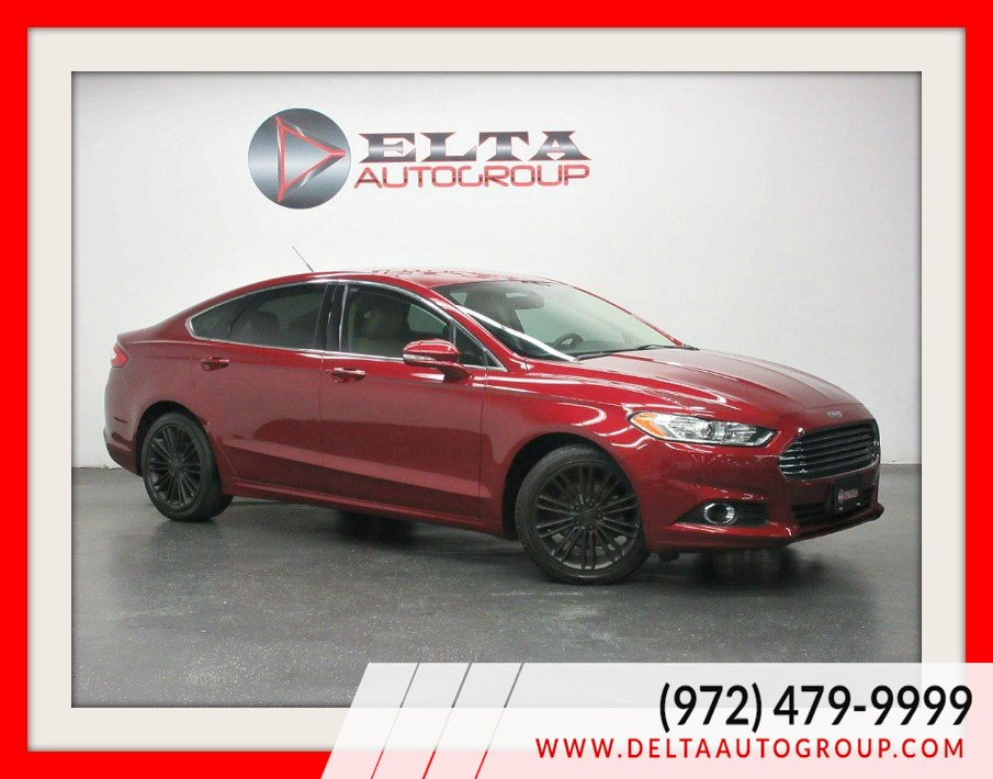 2016 Ford Fusion SE * LEATHER * CAMERA * SYNC * LOW MILES