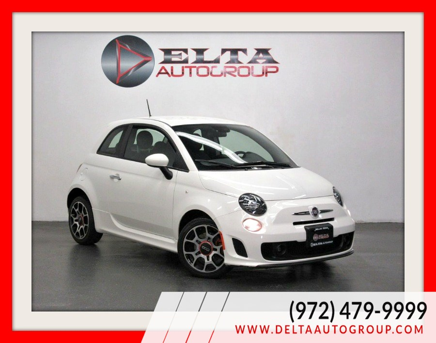 2015 FIAT 500 Turbo * LEATHER * LOW MILES * 1 OWNER