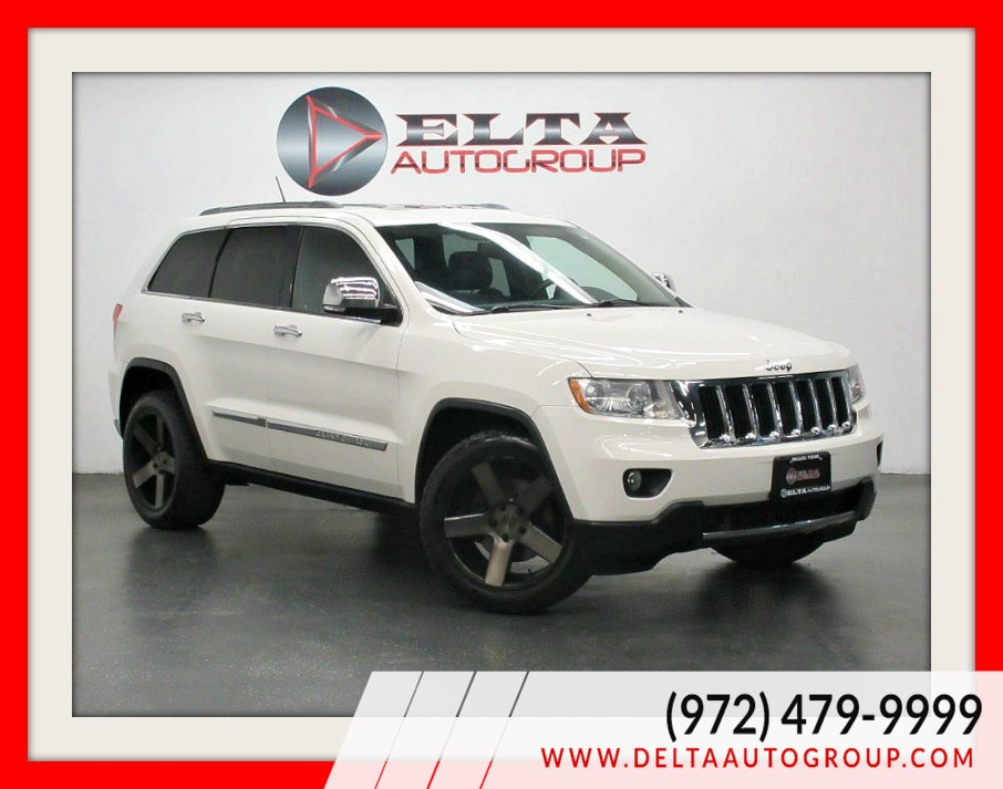 2012 Jeep Grand Cherokee LIMITED * 4WD * HEMI * NAVI * CAM * LOW MILES