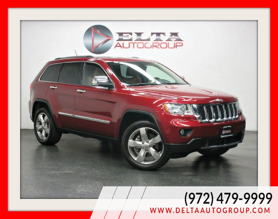 2012 Jeep Grand Cherokee Overland * HEMI * 4X4 * NAVI * CAM * ALLOYS
