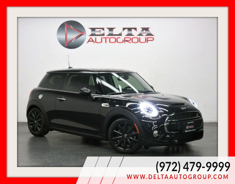 2018 MINI Hardtop 2 Door Cooper S * 6 SPEED M/T* NAVIGATION* CAM *LOW MILES