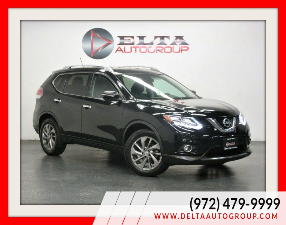 2015 Nissan Rogue SL * NAVIGATION * CAMERA * ROOF * 1 OWNER