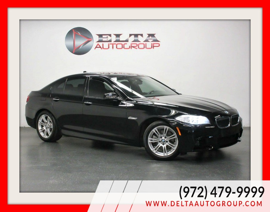 2013 BMW 5 Series 528i * M PKG. * NAVIG * CAM * LOW MILES
