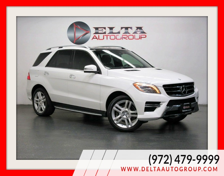 2014 Mercedes-Benz ML 350 PANORAMIC * NAVIGATION * CAMERA * PLUS 1 PKG