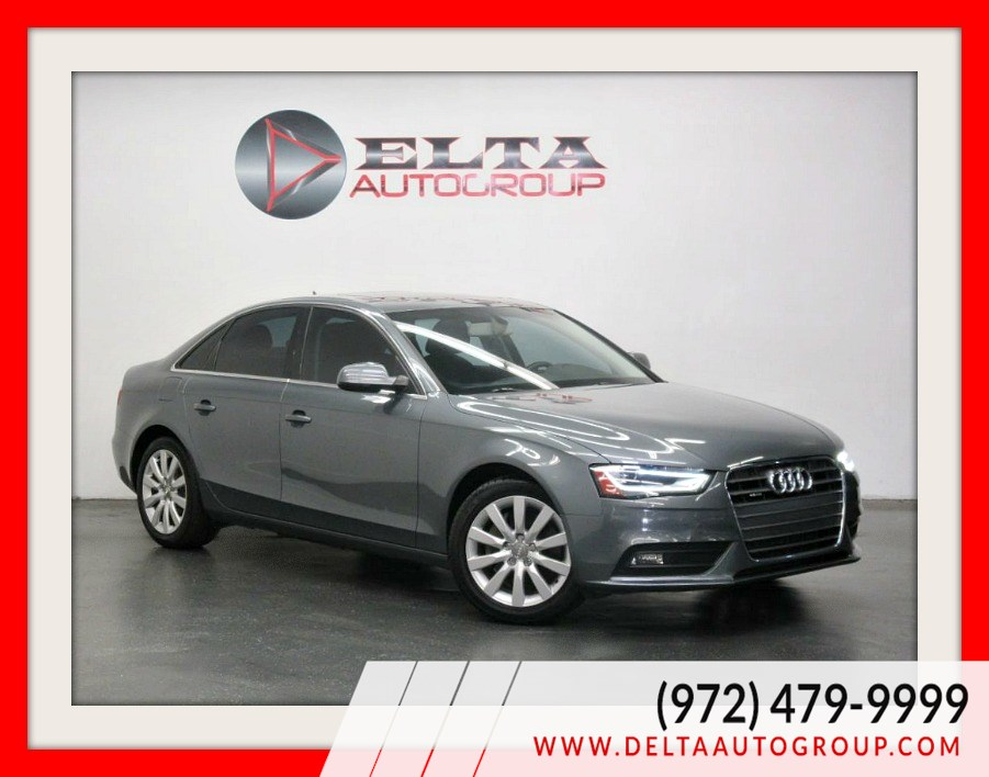 2013 Audi A4 PREMIUM * LEATHER * SUNROOF * LOW MILES