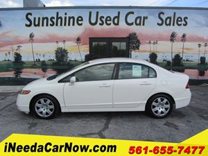 View 2006 Honda Civic Sedan LX