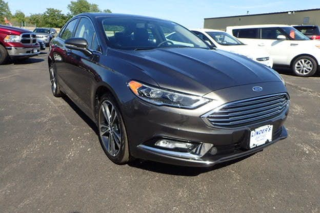 Sold 2017 Ford Fusion Titanium In Worcester
