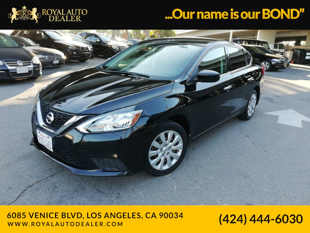 Nissan Dealership Los Angeles >> 2016 Nissan Sentra S Royal Auto Dealer