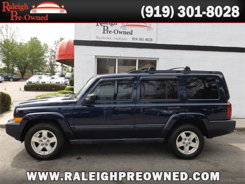 Sold 2006 Jeep Commander in Raleigh
