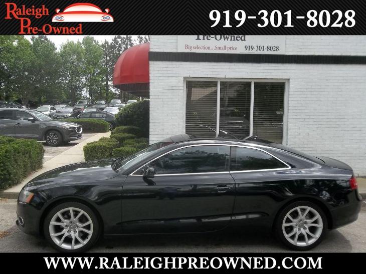 Audi A5 2 0 T >> Used 2012 Audi A5 2 0t Prestige In Raleigh