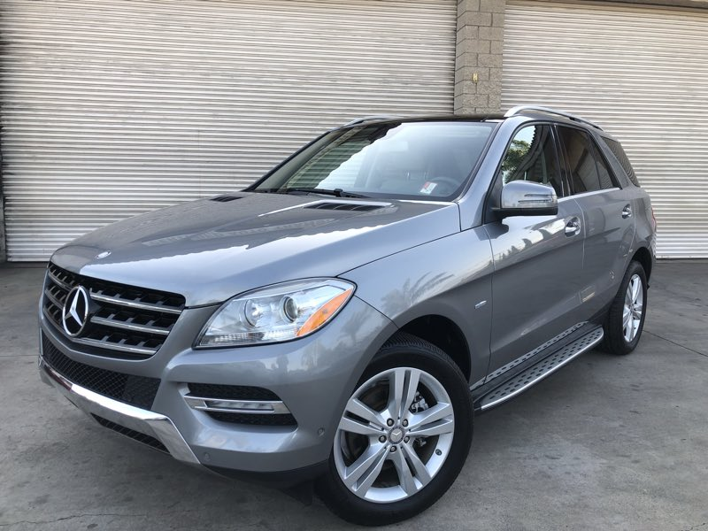 2012 Mercedes-Benz ML 350 ML 350 4MATIC Sport Utility 4D