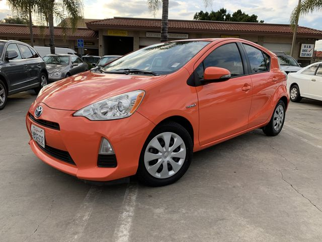 2012 Toyota Prius c One Hatchback 4D