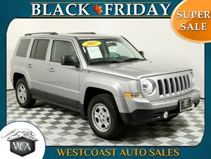2017 Jeep Patriot Sport Carfax 1-Owner - No AccidentsDamage Reported 4 Cylinders Audio  AmFm