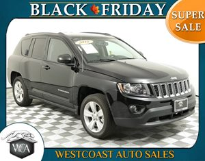 2016 Jeep Compass Sport Carfax 1-Owner - No AccidentsDamage Reported 4 Cylinders Aero-Composite