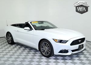 2017 Ford Mustang EcoBoost Premium Carfax 1-Owner - No AccidentsDamage Reported 4-Wheel Disc Bra