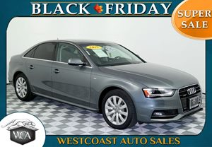 2015 Audi A4 Premium Carfax 1-Owner - No AccidentsDamage Reported Audi Mmi Navigation Rear Pass