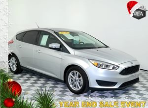 2016 Ford Focus SE Carfax 1-Owner - No AccidentsDamage Reported 4 Cylinders Audio  AmFm Stere