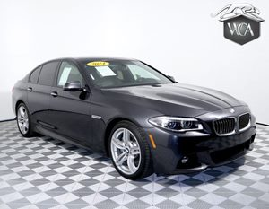 2014 BMW 5 Series 535i M SPORT Carfax 1-Owner - No AccidentsDamage Reported Acc Stop  Go  Acti