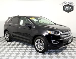 2017 Ford Edge Titanium Carfax 1-Owner - No AccidentsDamage Reported 4 Cylinders Audio  Auxili