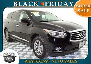 2014 INFINITI QX60  Carfax 1-Owner - No AccidentsDamage Reported P01 Premium Package W10 Po