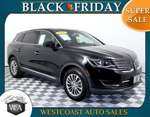 2016 Lincoln MKX Select Carfax 1-Owner - No AccidentsDamage Reported Climate Package Revel Audi