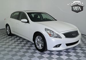 2013 INFINITI G37 Sedan Journey Carfax 1-Owner - No AccidentsDamage Reported P01 Premium Pkg