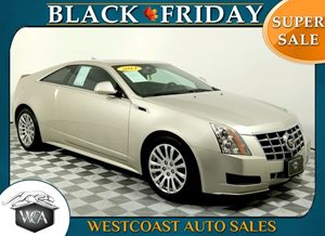 2014 Cadillac CTS Coupe  Carfax 1-Owner - No AccidentsDamage Reported Air Bag - Frontal  Driver
