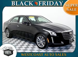 2017 Cadillac CTS Sedan 20T Luxury Carfax 1-Owner - No AccidentsDamage Reported V-Sport Package