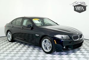 2014 BMW 5 Series 528i M Sport Pkg Carfax 1-Owner - No AccidentsDamage Reported Acc Stop  Go