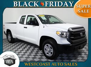 2017 Toyota Tundra 2WD SR Carfax 1-Owner - No AccidentsDamage Reported Audio Auxiliary Audio In