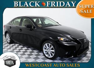 2014 Lexus IS 250  Carfax 1-Owner - No AccidentsDamage Reported Backup Camera Premium Package