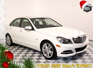 2012 MERCEDES C 250 C 250 Luxury Carfax 1-Owner - No AccidentsDamage Reported  Sunroof Chrome D