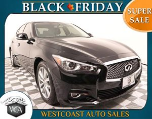 2015 INFINITI Q50  Carfax 1-Owner - No AccidentsDamage Reported J01 Moonroof Package Audio A