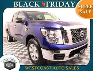 2017 Nissan Titan SV Carfax 1-Owner - No AccidentsDamage Reported Air Bag - Frontal Driver Air