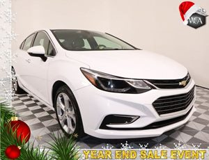 2017 Chevrolet Cruze Premier Carfax 1-Owner - No AccidentsDamage Reported Air Bag - Frontal Dri