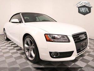 2011 Audi A5 20T Premium Plus Carfax Report - No AccidentsDamage Reported 19 Sport Pkg Navig