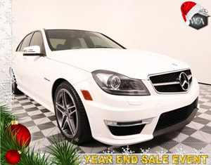 2014 MERCEDES C 63 AMG Sedan Carfax 1-Owner - No AccidentsDamage Reported Driver Assistance Pack