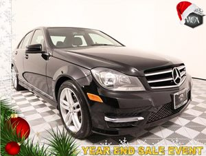 2014 MERCEDES C 250 Sport Sedan Carfax 1-Owner - No AccidentsDamage Reported Panorama Sunroof P