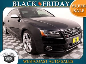 2011 Audi S5 42 quattro Premium Carfax Report - No AccidentsDamage Reported 19 5-Tri-Spoke Al