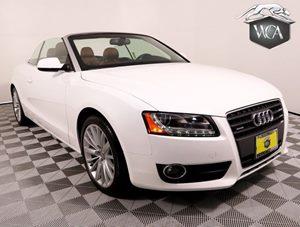 2011 Audi A5 20T quattro Premium Carfax Report - No AccidentsDamage Reported 18 5-Y-Spoke All