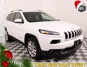 2017 Jeep Cherokee Limited Carfax 1-Owner - No AccidentsDamage Reported Air Conditioning AC A