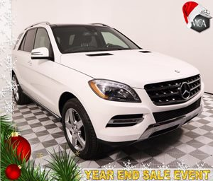 2015 MERCEDES ML 350 ML 350 Carfax 1-Owner - No AccidentsDamage Reported 3-Zone Automatic Climat